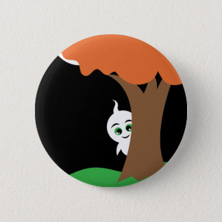 Peekaboo Ghost Button