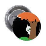 Peekaboo Ghost Pinback Button