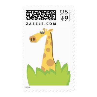Peekaboo Giraffe Postage