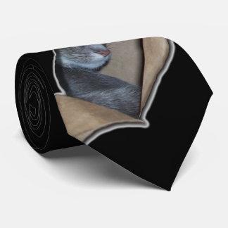 Peekaboo I See Mew Tie
