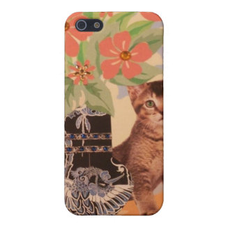 Peekaboo Kitten: Cute Phone Case Cover For iPhone 5/5S