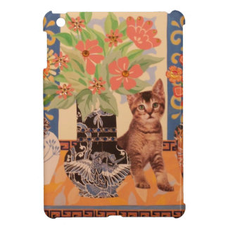 Peekaboo Kitten Mini iPad Case