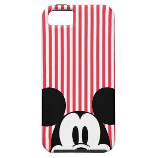 Peekaboo Mickey Mouse iPhone 5 Carcasas