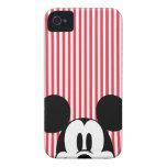Peekaboo Mickey Mouse iPhone 4 Carcasa