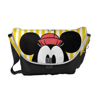 Peekaboo Minnie Mouse Bolsas De Mensajería