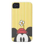 Peekaboo Minnie Mouse Case-Mate iPhone 4 Protector