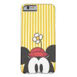 Peekaboo Minnie Mouse Funda De iPhone 6 Barely There
