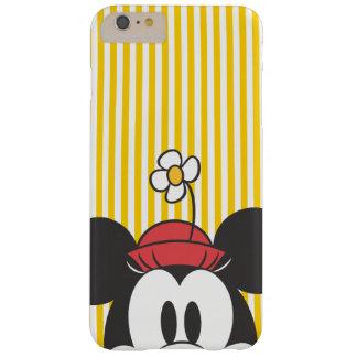 Peekaboo Minnie Mouse Funda Para iPhone 6 Plus Barely There
