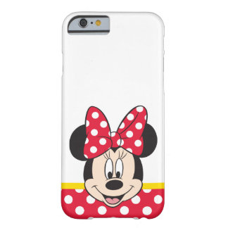Peekaboo Minnie Mouse - lunares Funda Para iPhone 6 Barely There