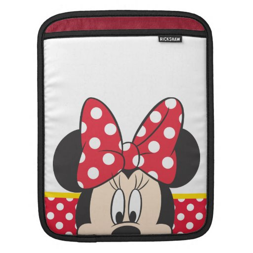 Peekaboo Minnie Mouse - lunares Funda Para iPads