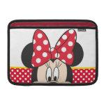 Peekaboo Minnie Mouse - lunares Fundas MacBook