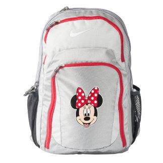 Peekaboo Minnie Mouse - lunares Mochila