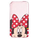 Peekaboo Minnie Mouse - lunares Funda Cartera Para iPhone 6 Watson