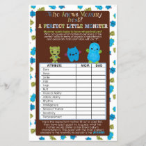 PeekaBoo Monsters Baby Shower Game Perfect Baby