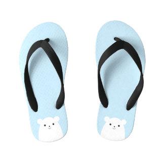 Peekaboo Panda Kids Flip Flops