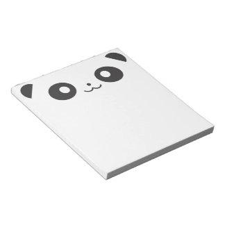 Peekaboo Panda Note Pad