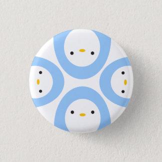 Peekaboo Penguins Pinback Button