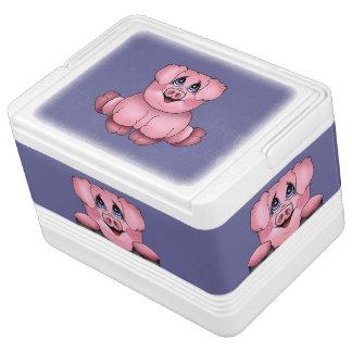 Peekaboo Piggy Cooler Igloo Drink Cooler