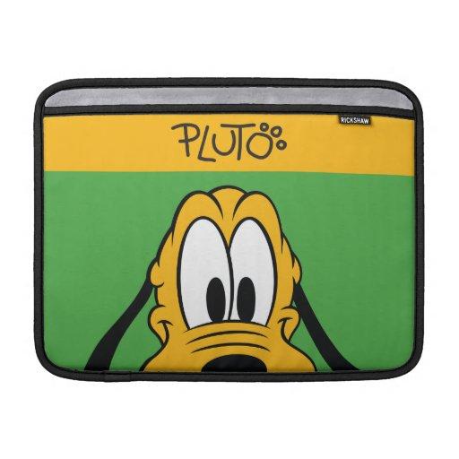 Peekaboo Plutón Funda MacBook