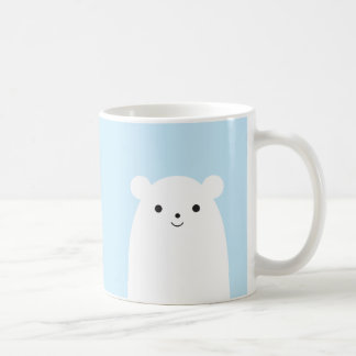 Peekaboo Polar Bear Coffee Mug
