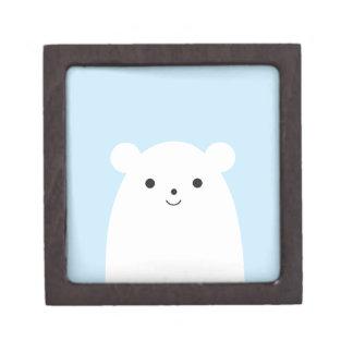 Peekaboo Polar Bear Gift Box