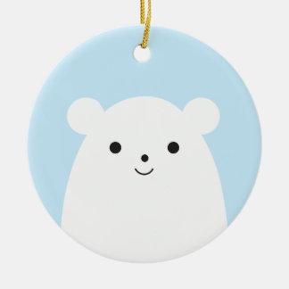 Peekaboo Polar Bear Ornament