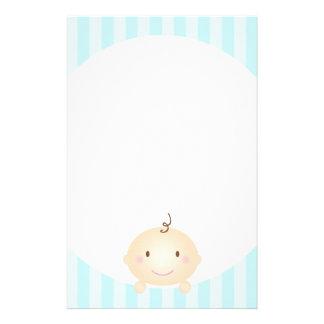 Peekaboo - Prevent Mommy Brain Blue Stationery