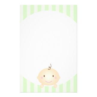 Peekaboo - Prevent Mommy Brain Green Stationery