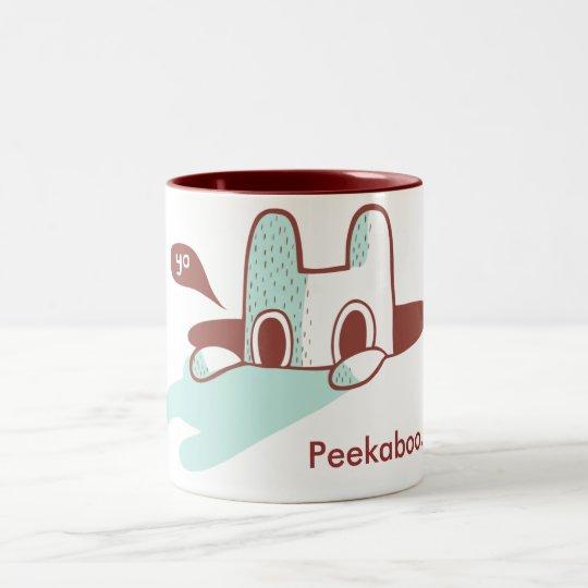 Peekaboo.... Tea Cup