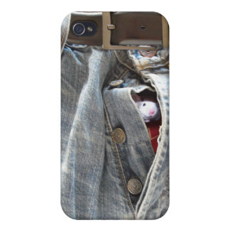 Peekaboo!  Your fly's open iPhone 4 Cases