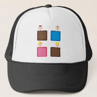 PeekABooBabies12 Trucker Hat