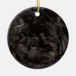 Peekapoo Christmas Ornament