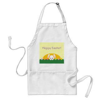 Peeking Bunny Hoppy Easter Apron