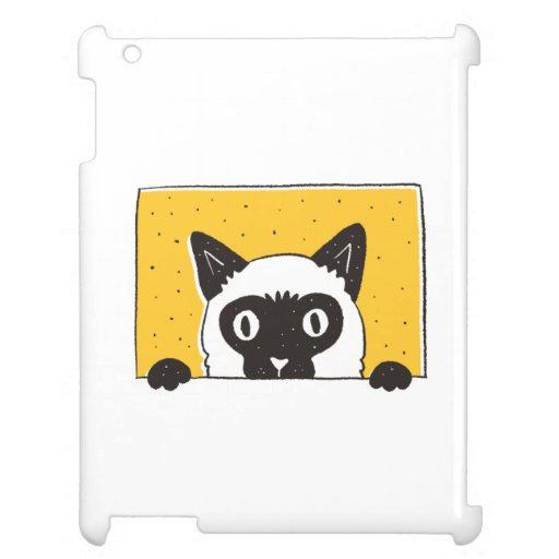 PEEKING CAT Case for the iPad DESIGN
