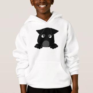peeking lab black hoodie