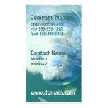 Peeking Manatee Business Cards