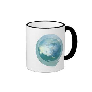 Peeking Manatee  Coffee Mug