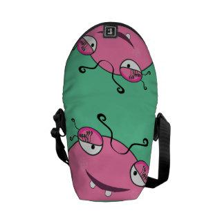 Peeking Monster Messenger Bag