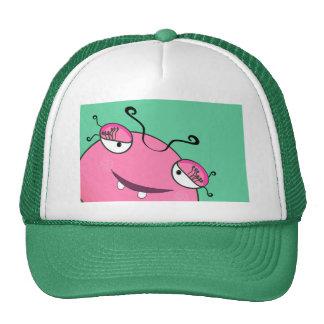 Peeking Monster Trucker Hat