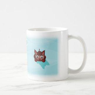 Peeking Squirrel Coffee Mug