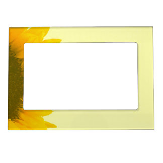 Peeking Sunflower Photo Frame