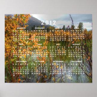 Peeking Through the Brush; 2012 Calendar Posters