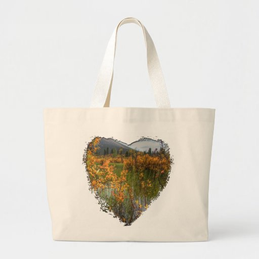 Peeking Through the Brush Jumbo Tote Bag