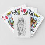 Peeking Wolf.jpg Bicycle Poker Cards