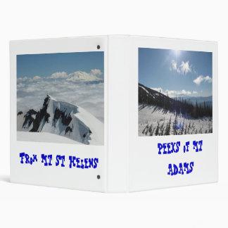 Peeks of Mt Adams binder