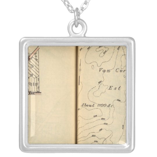 Peekskill, New York 2 Silver Plated Necklace