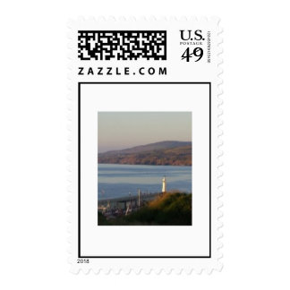 Peel Lighthouse, early evening Postage Stamps