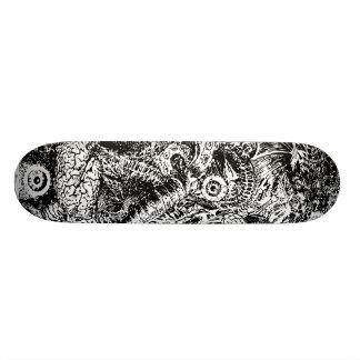 peeled 1 skateboard deck