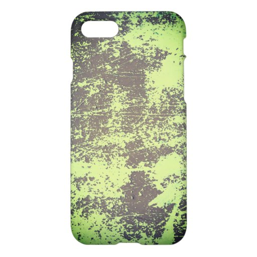 Peeled Green Wall Paint Texture iPhone 8/7 Case