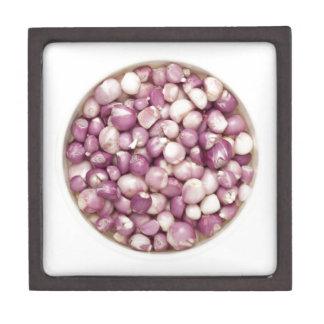 Peeled shallots jewelry box